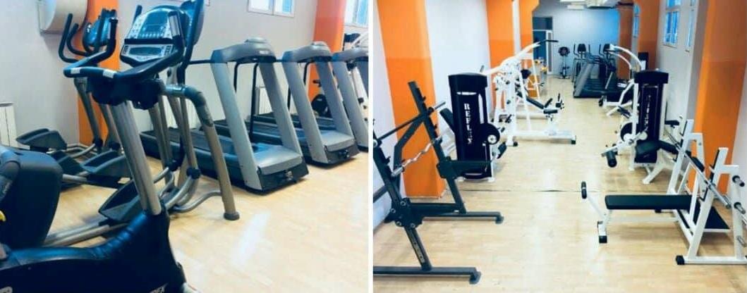 Фитнес центар у хали Младост